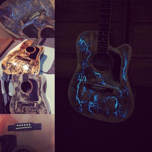 Thunderstruck guitars